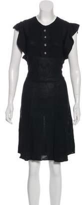 RED Valentino Knee-Length Knit Dress