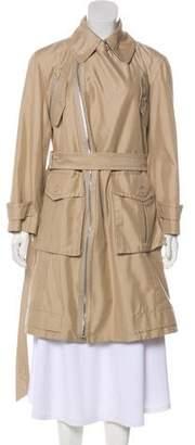 Marc Jacobs Tonal Knee-Length Coat