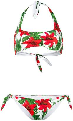 MC2 Saint Barth tropical flower bikini