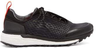 adidas by Stella McCartney Supernova Trail Snake Print Low Top Trainers - Womens - Black