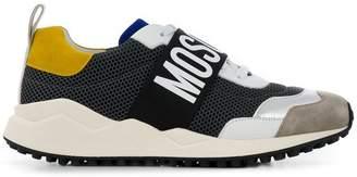 Moschino colour-block logo sneakers
