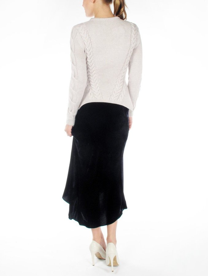 Vanessa Bruno Velvet Skirt