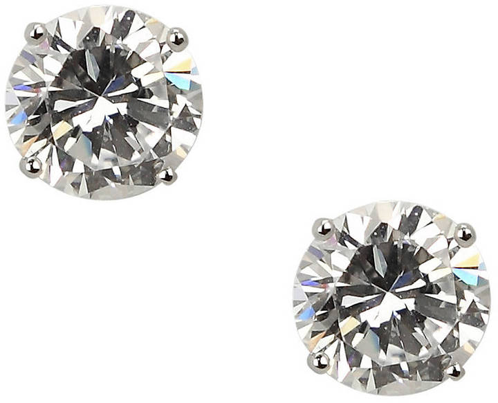 NINA Eloise Round Cubic Zirconia Stud Earrings