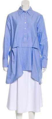 Marissa Webb Collar Long Sleeve Top