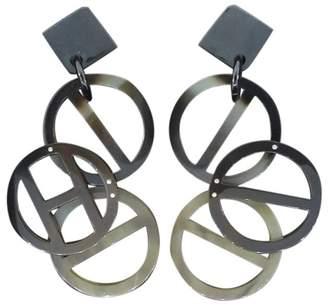 Hermes Paris Bakelite Earrings