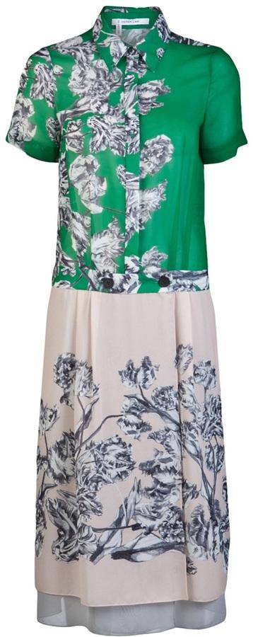 10 Crosby By Derek Lam Floral shirt dress