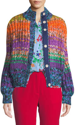 Jagger Novis Multicolor Wool-Cashmere Sweater