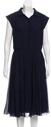 Tommy Hilfiger Pleated Midi Dress