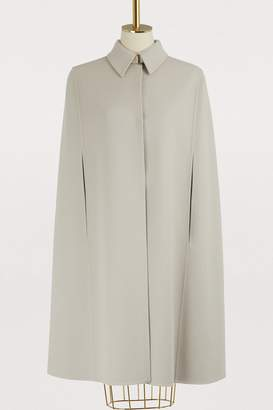 Loro Piana Two-tone cape