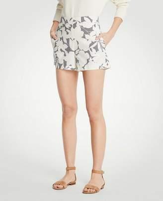 Ann Taylor Petite Shadowed Floral Shorts