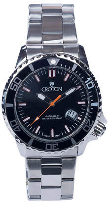 Croton N/A Womens Black Bracelet Watch-Cn207596bkmp