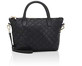 Barneys New York WOMEN'S MONICA MINI LEATHER CROSSBODY BAG-BLACK