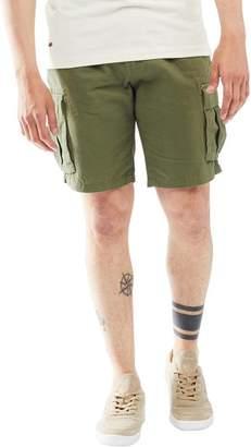 Tokyo Laundry Mens Harness Shorts Dark Olive