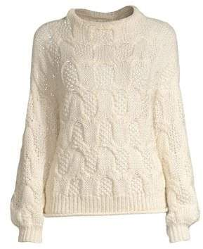 Joie Minava Cable Knit Sweater
