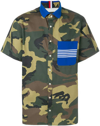 Tommy Hilfiger camouflage print shirt