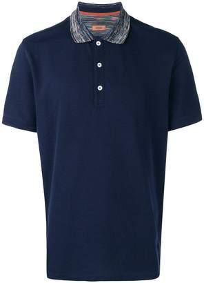 Missoni short sleeved polo shirt