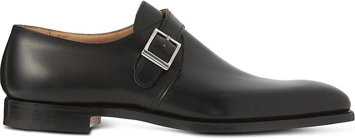 Crockett JonesCrockett & Jones Single buckle monk shoes