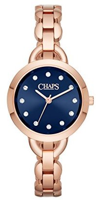 Chaps Ardisローズゴールド調three-hand Watch