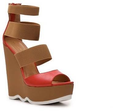 C Label Carol-2 Wedge Sandal