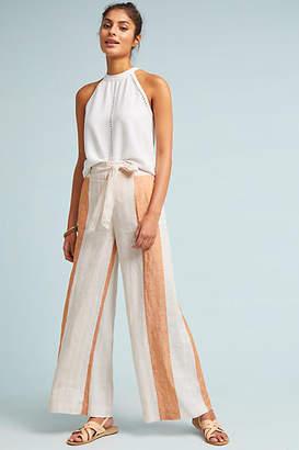 ett:twa Striped Linen Trousers