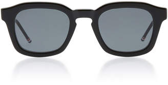 Thom Browne Matte Acetate Square Sunglasses
