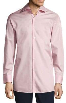 HUGO BOSS Casual Cotton Button-Down Shirt