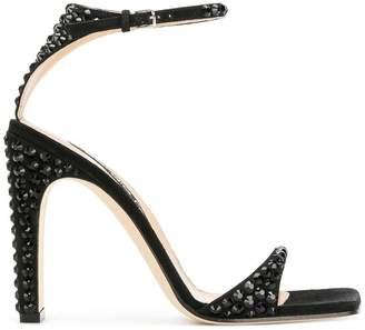 Sergio Rossi crystal studded sr1 sandals