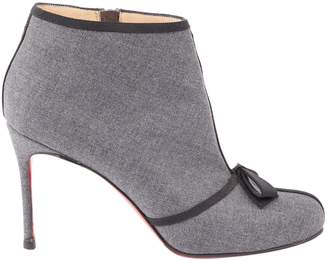 Christian Louboutin Cloth Ankle Boots
