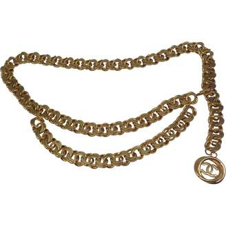 Chanel Vintage Gold Chain Belts