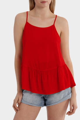 Only Begonia Short Sleeve Woven Top