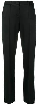 Cambio creased slim-fit trousers
