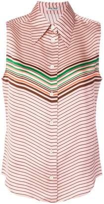 Miu Miu striped design blouse