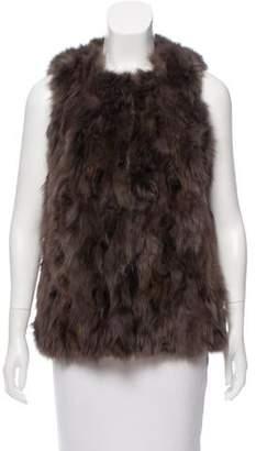 Lanvin Sable Fur Vest