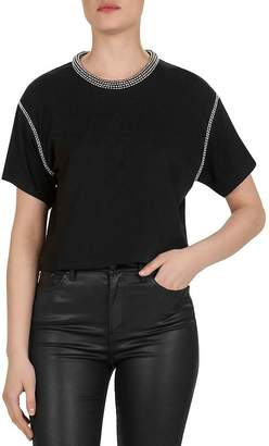 The Kooples Studded Jersey Top