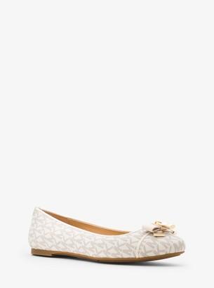MICHAEL Michael Kors Alice Logo Ballet Flat
