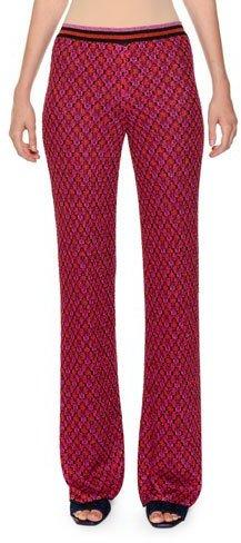 Missoni Multicolor Wide-Leg Knit Pants