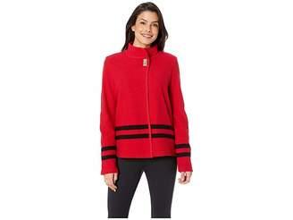 Calvin Klein Shirt Jacket with Stripe Detail