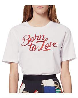 Sandro Paris Adele T Shirt