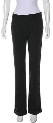 Diane von Furstenberg Mid-Rise Wide-Leg Pants