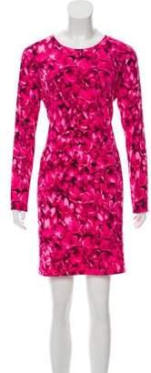 MICHAEL Michael Kors Floral Print Mini Dress