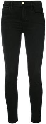 Frame super skinny cropped jeans
