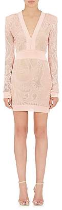 Balmain Women's Pearl-Bead-Embellished Dress