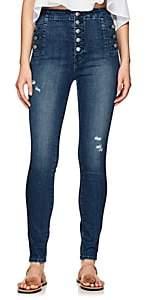 J Brand Women's Natasha Skinny Jeans - Md. Blue