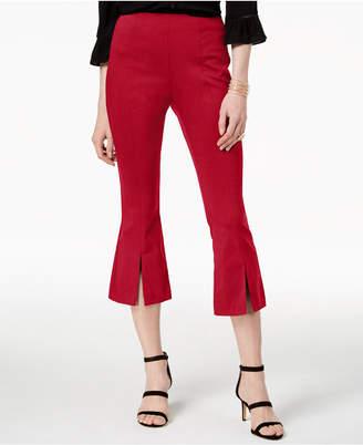 INC International Concepts I.N.C. Cropped Split-Hem Pants, Created for Macy's
