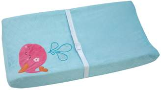Carter's Sea Collection Velboa Fleece Contoured Changing Pad Cover