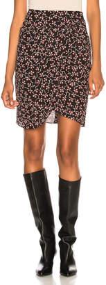 Isabel Marant Livia Skirt in Black | FWRD
