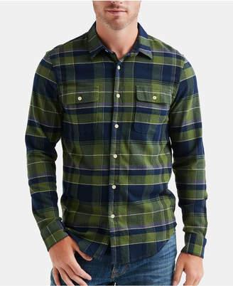 Lucky Brand Men Workwear Plaid Shirt