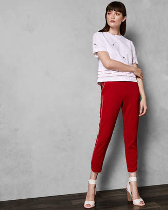 Ted Baker LAILLE Side stripe joggers