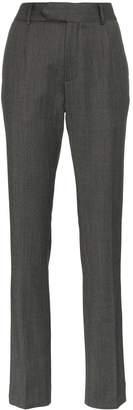 Matthew Adams Dolan High-Waisted Slim Trousers