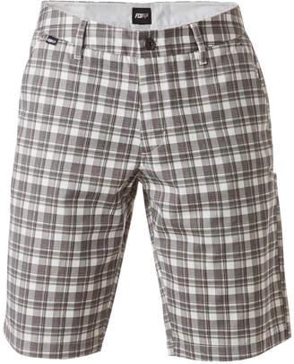 Fox Men's Essex Plaid Twill Shorts